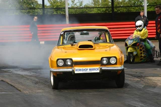 some old drag car image